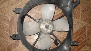 Mazda Demio uchun radiatorga fan sovutish motor ochish yo'q