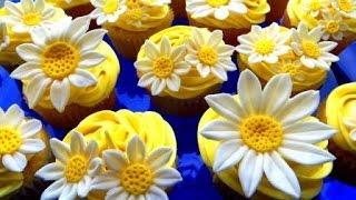 How To Make Lemon Daisy Cupcakes :: 2cupsofdelight