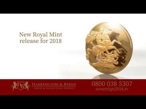 United Kingdom Gold Sovereign 2018 - Harrington & Byrne