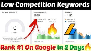 Low Competition Keywords For Micro Niche Blog | Low Competition Keywords List For Micro Niche Blog |