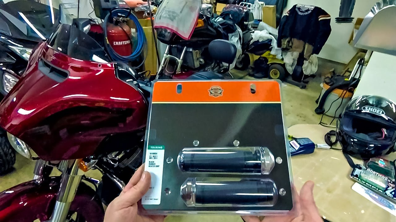 HowTo Install Harley Heated Grips!!  2014~17 Street