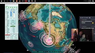 12/28/2016 -- Large M5.7 earthquake swarm hits volcanoes at California + Nevada border