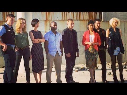 Sense8 Cast Google Chat