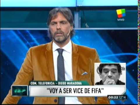 La advertencia de Maradona a Tinelli