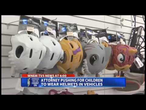 WNEM-TV Howard Spiva's Helmet Crusade