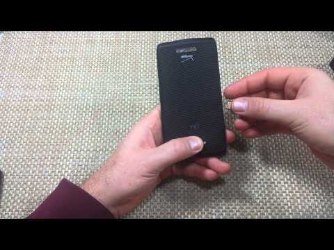 Motorola Droid Turbo How to Remove & Insert Nano Sim Card Install Sim Tray