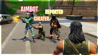 They think i have aimbot hacks on fortnite...