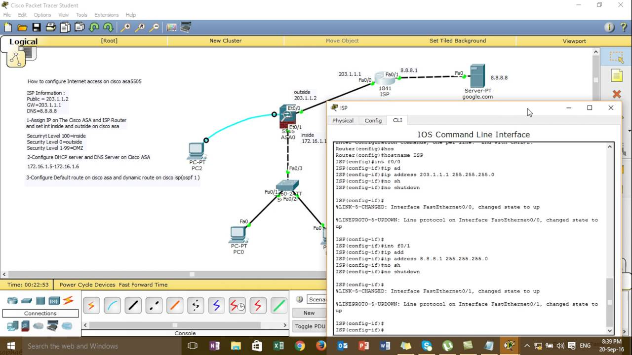 what is packet tracer in asa