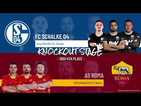 3rd Place Match | FC Schalke 04 vs. AS Roma | Highlights eFootball.Pro IQONIQ Knockout Stage 2020-21