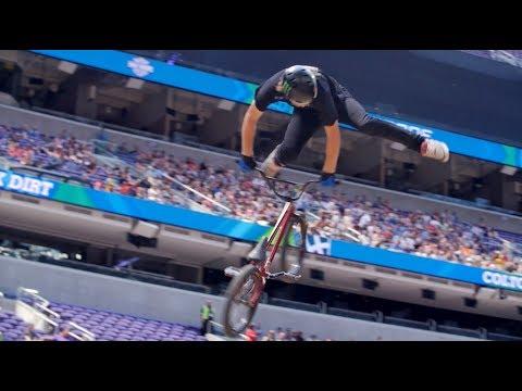 X GAMES 2017 - COLTON WALKER'S GOLD MEDAL WINNING BMX DIRT RUN