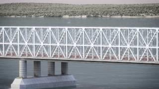 Строительство моста в Крым через Керченский пролив