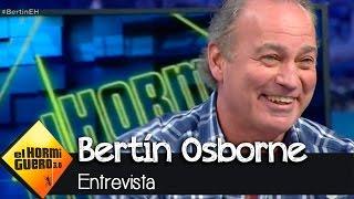 """Bertín Osborne en El Hormiguero 3.0: """"Hay que votar nuevas ideas, no discursos prehistóricos"""""""