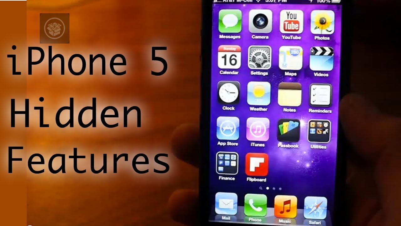 iPhone 5 Hidden Features! (HD) - YouTube