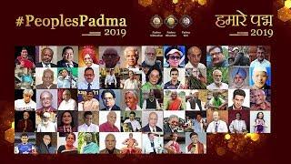 Watch the astounding stories of the awardees of #PeoplePadma Award 2019 thumbnail