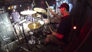 DEHUMANIZED@Doomed To Die-Live in Poland-Bielsko 2014 (Drum Cam)
