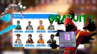 [OFF] FORTITE HACK SKIN TUTO! HAVE ALL SKINS - DANSES - SKIN CHANGE - FORTNITE BATTLE ROYALE
