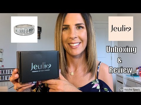 JEULIA JEWELRY UNBOXING & REVIEW