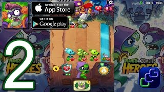 Repeat youtube video Plants vs  Zombies Heroes Android iOS Walkthrough-  Part 2 - Plant Missions