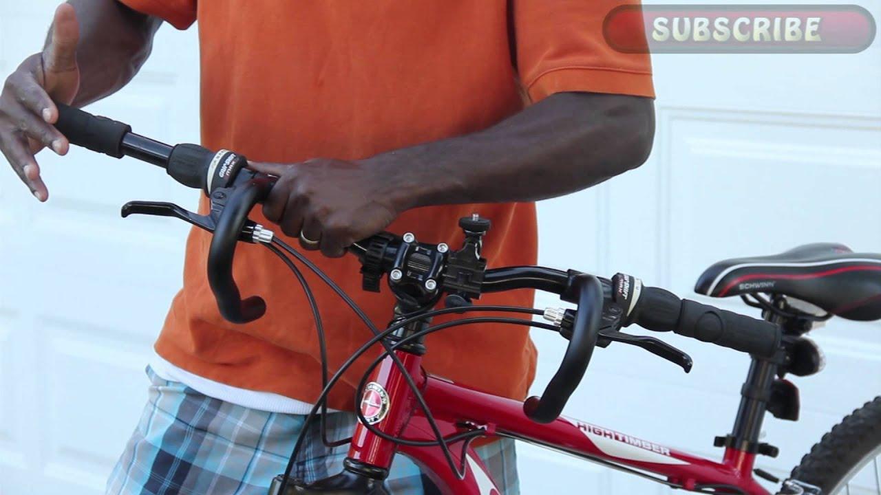 Instaling My Origin 8 Bicycle Drop Bar Ends On My Bike Youtube