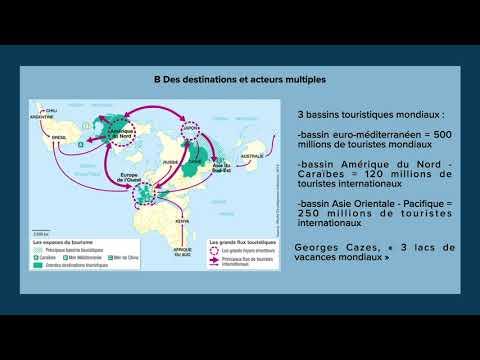 Chapitre 5 Un Monde De Plus En Plus Mobile Capsule 2 Geographie Seconde Theme 3 Tourisme Youtube