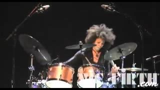 cindy blackman santana   montreal drum fest 2009 performance