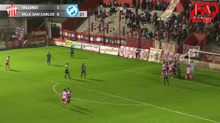 FATV 17/18 Fecha 5 - Talleres 2 - Villa San Carlos 1
