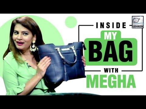 Inside My Bag With Megha Dhade | Bigg Boss 12 | EXCLUSIVE