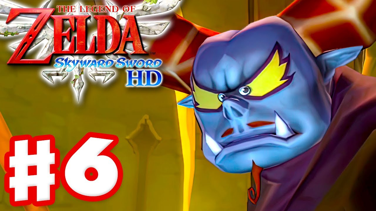 Batreaux, the Demon of Skyloft! - The Legend of Zelda: Skyward Sword HD - Gameplay Part 6