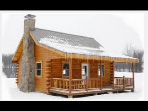 Pre built hunting cabins under 10 000 youtube for Blueprints for homes already built