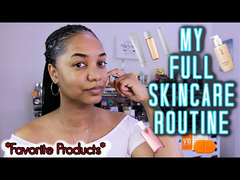 ❤-my-full-skincare-routine-|-day-&-night-|-favorite-products-❤