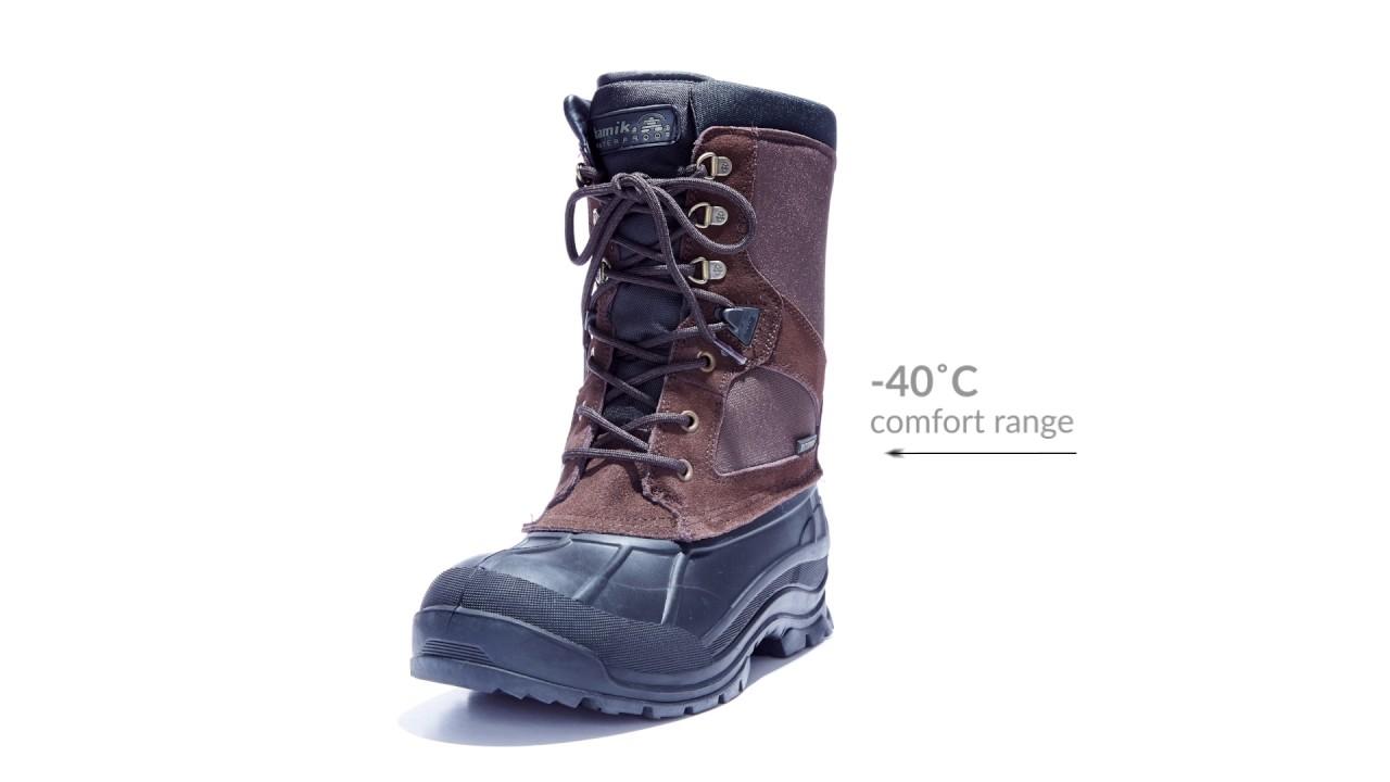 b112ec49a08 Kamik Mens Nelsons Winter Boot