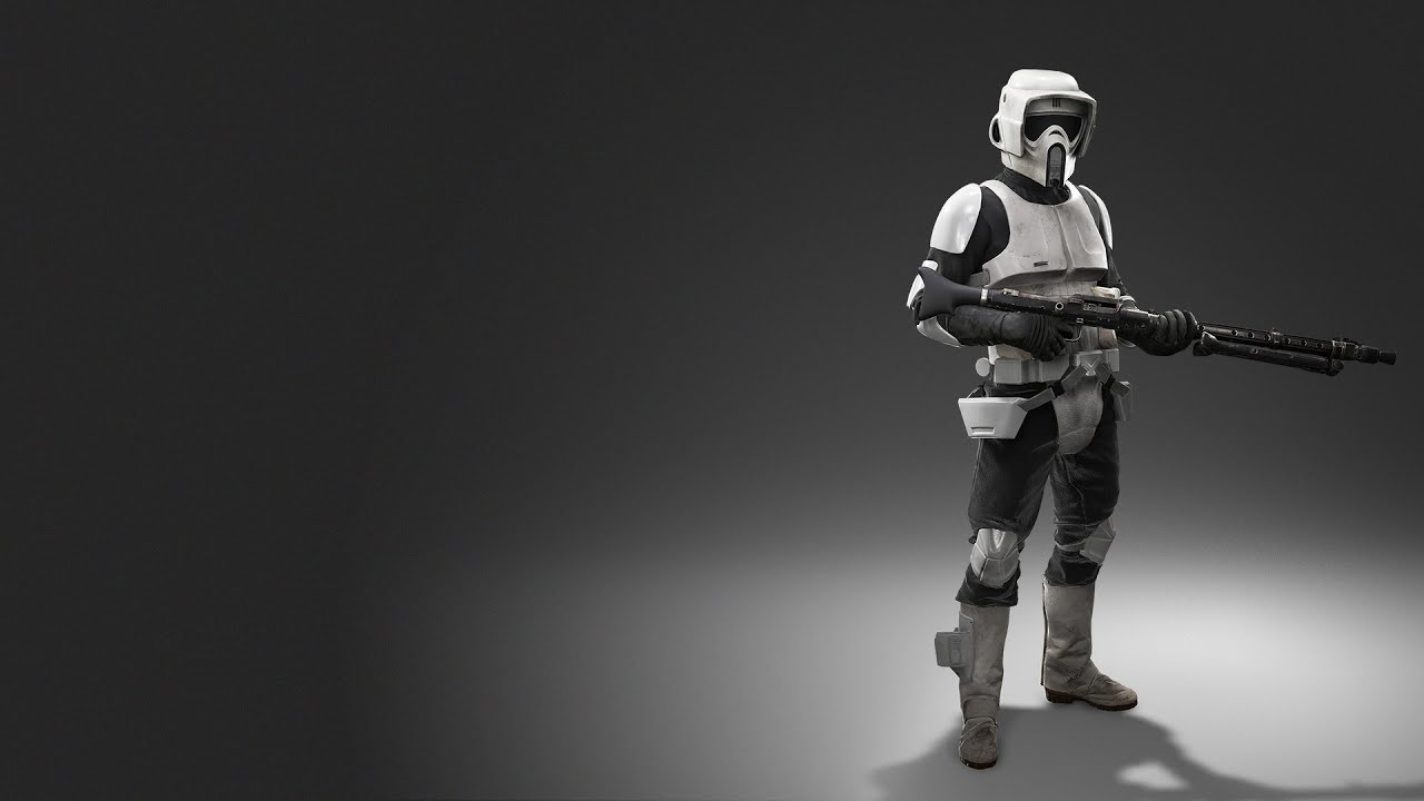 Star Wars Battlefront Ea Scout Trooper Youtube