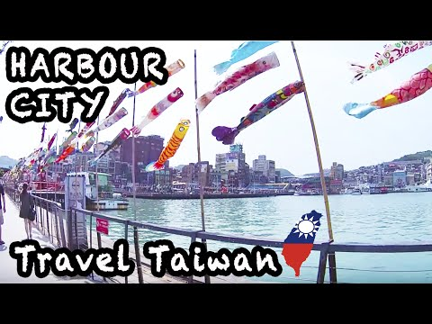 Travel Taiwan Vlog|MUST VISIT|Keelung the Harbour City 外國人遊台灣:老外和基隆