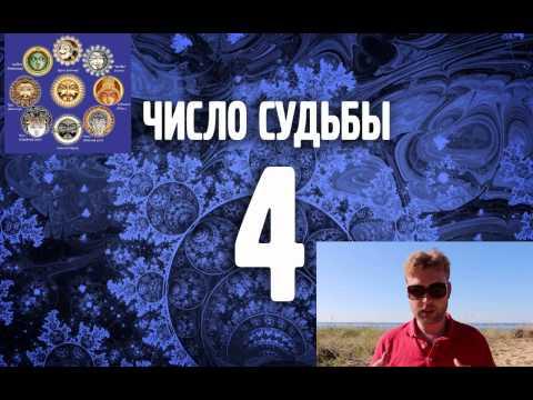 Число судьбы 4. Число Кармы 4. Ведическая нумерология