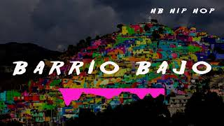 "base de rap boom bap ""barrio bajo"" rap beat x hb hip hop"