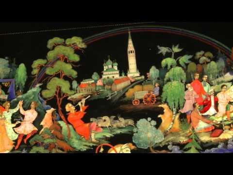 90 лет искусству палехской лаковой миниатюры