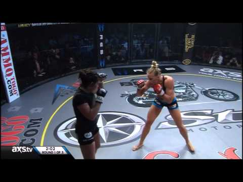 Holly holm vs Nikki Knudsen LFC 24 -