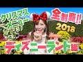 【全9品】ディズニーランドのクリスマスメニュー全制覇【2018】