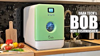 Smallest & Fastest Dishwasher in the World - BOB Mini Dish washer (Space, Energy & Water Saving)