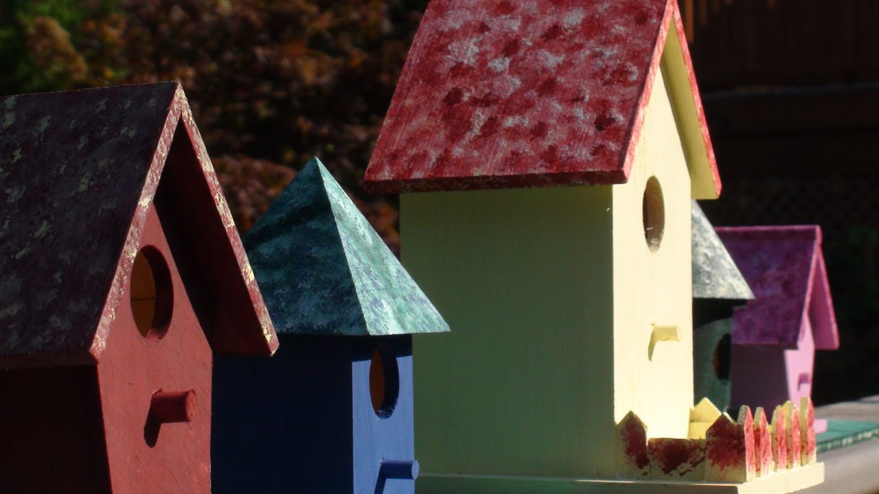 Bird House Roof Ideas