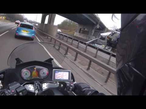 A12 HGV accident GoPro footage - By Ian Gainford