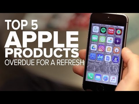 Apple products overdue for a refresh (CNET Top 5)