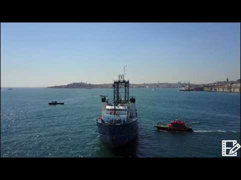 Ocean Vantage at Bosphorus Strait Istanbul