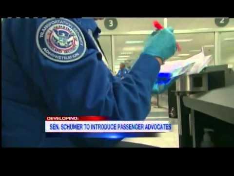 Schumer wants airport passenger advocates