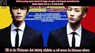 Donghae & Eunhyuk (Donghae Solo) - First Love - Sub. Espa?ol - (Rom-Han)