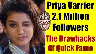 Priya Varrier: 2.1 Million Followers - Why I Am Not Impressed