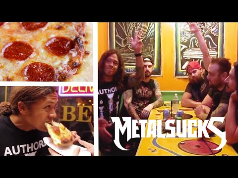 WOVENWAR Hunt for the Best Pizza in NYC | MetalSucks