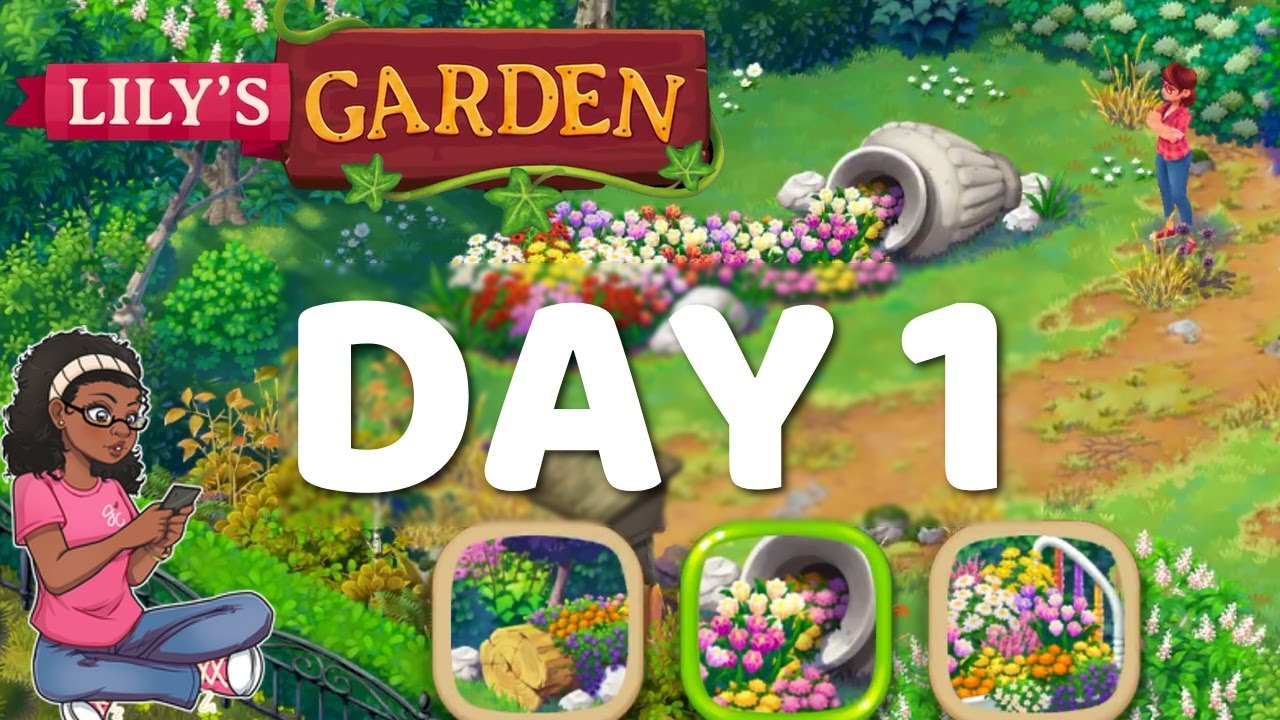 Lily S Garden Gameplay Walkthrough Lily S Garden Day 1 Complete