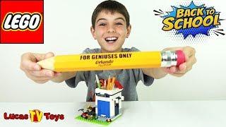 LEGO Pencil Holder For Back To School Fun! LEGO Set 40188