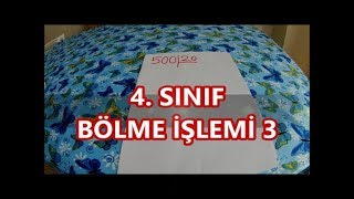 4  SINIF BÖLME İŞLEMİ 3